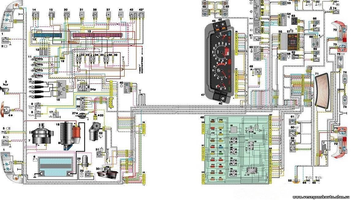 Схема охлаждения ваз 21214 инжектор фото 971