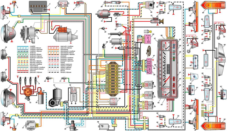 схема зарядки ваз21061