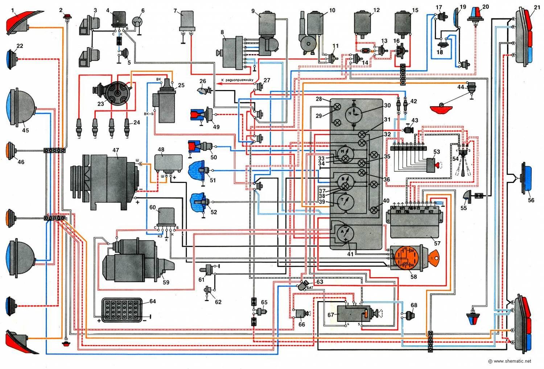 Газ 31029 схема электрооборудования фото 133