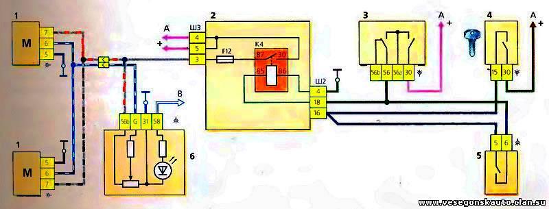 электрокорректора фар