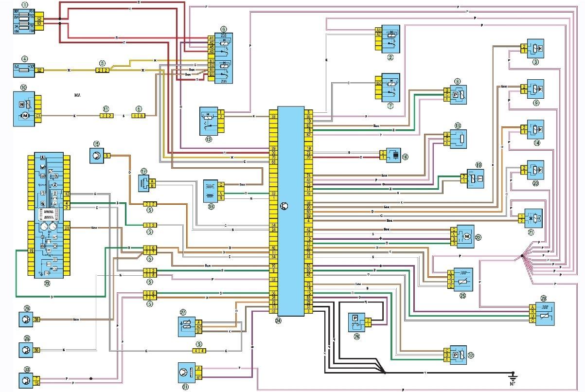 Схема электропроводки рено логан фото 243